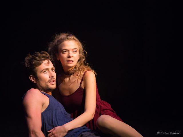 Thomas Willaime (Roméo) et Manon Montel (Juliette) copyright Pierre Colletti_rdc