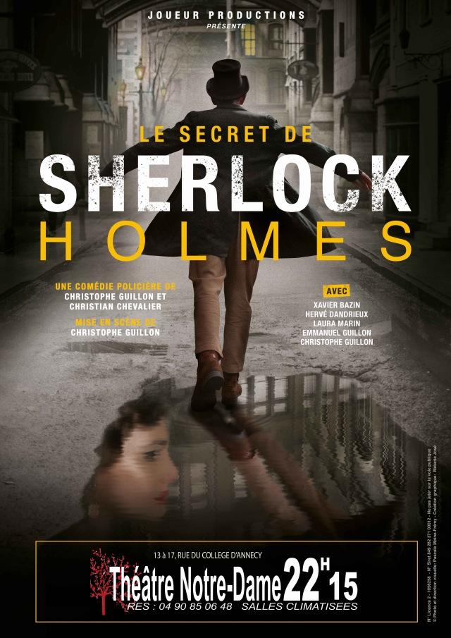 SHERLOCK HOLMES Avignon 2019 affiche